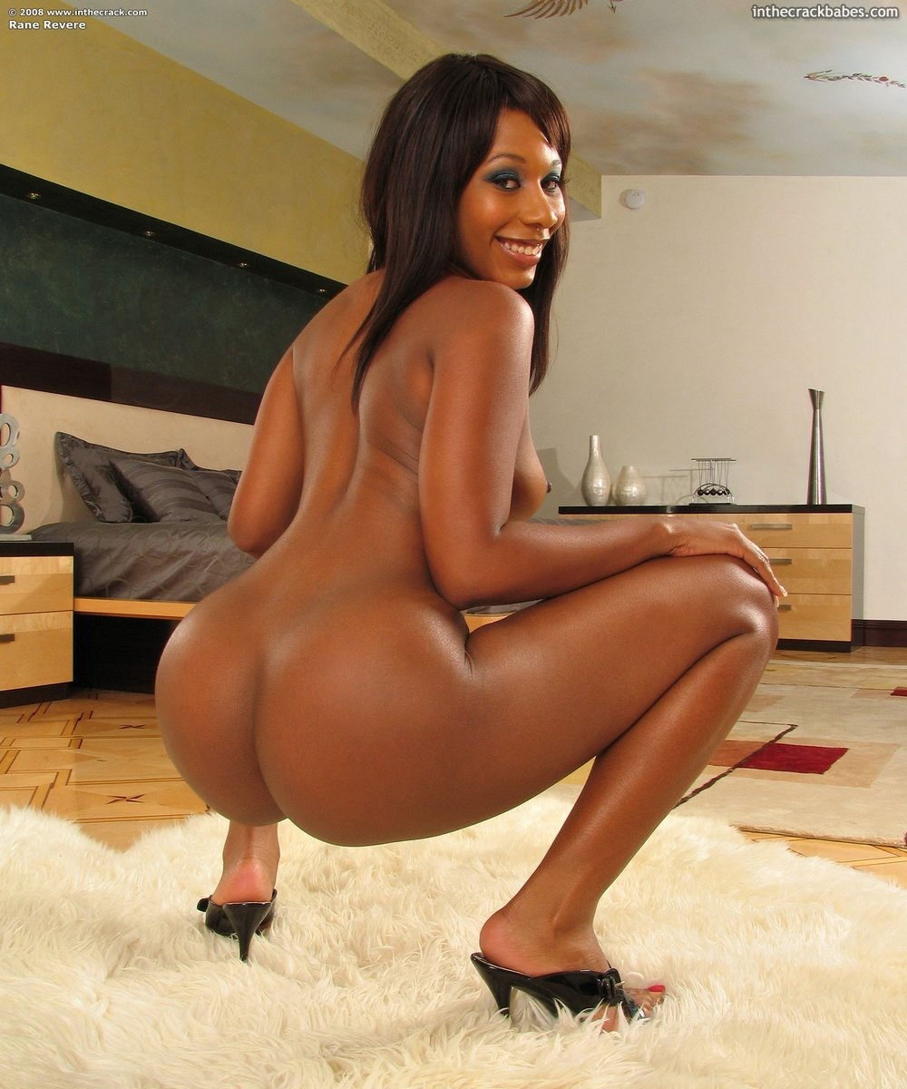 Tight ebony babe Rane Revere stuffing her closeup shaven pussy with a vibrator - SexyGirlCity ...